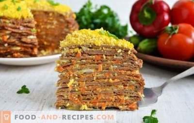 Ciasto wątrobowe z marchewką i cebulą - świetna przekąska! Najlepsze przepisy, wskazówki i sekrety tworzenia ciasta z wątroby z marchewką i cebulą