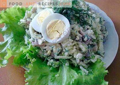 Sałatka śledziowa - najlepsze przepisy. Jak prawidłowo i smacznie gotować sałatkę śledziową.