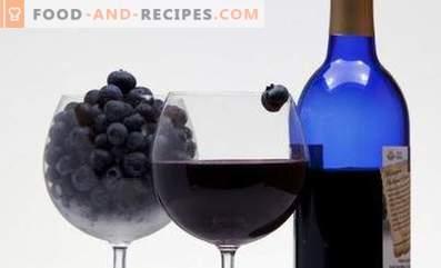 Wino jagodowe