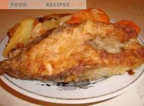 Salmone rosa fritto