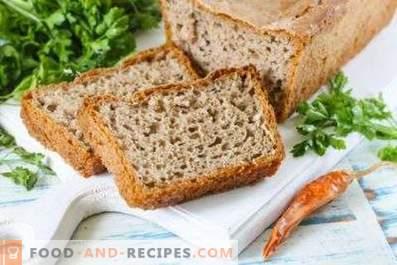 W jakiej temperaturze piec chleb