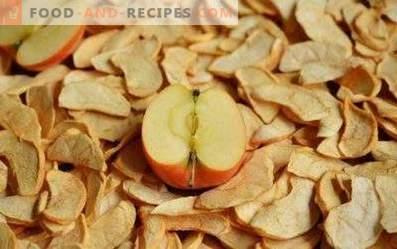 Jak przechowywać suszone jabłka