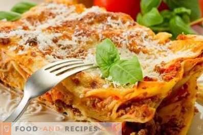 Pita Lasagna z mięsem mielonym