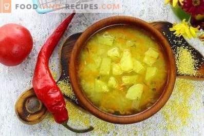 Cornmeal Soup