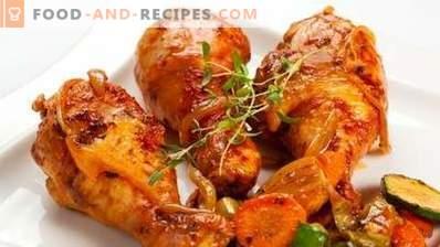 Pałki z kurczaka pieczone w wolnej kuchence