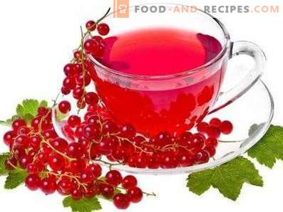 Red currant juice for winter