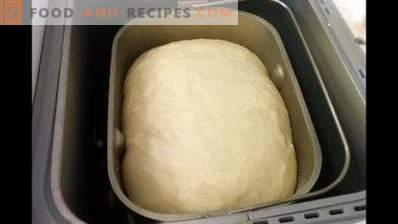 Dough for pies in bread maker