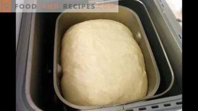 Ciasto na ciasta w wypiekaczu chleba