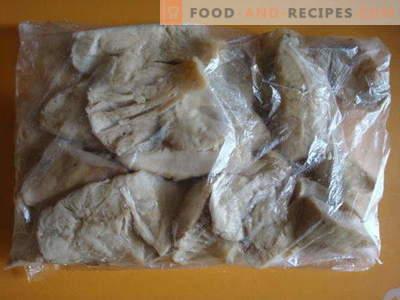 Jak zamrozić grzyby na zimę