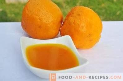 Pomarańczowy sos mięsny