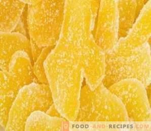 Imbir w cukrze: przydatne właściwości
