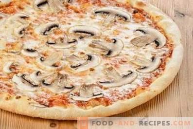 Šampinjon pica