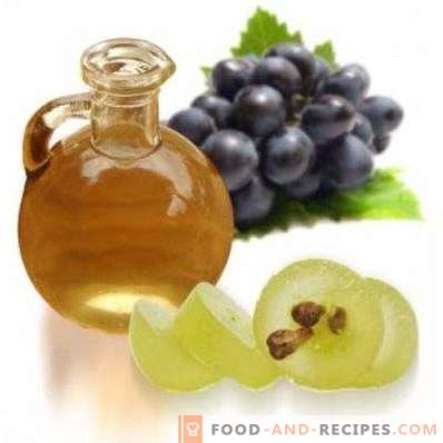 Olej z pestek winogron: właściwości i zastosowania