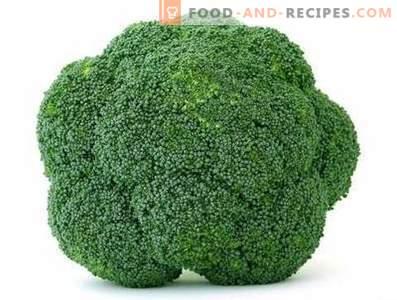 Cum se păstrează broccoli