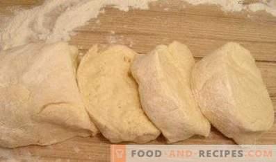 Aluat pentru chefir pentru prăjituri