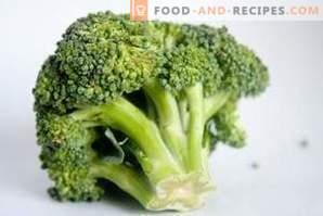 Jak zamrozić kapustę brokułową