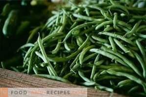 Wie man grüne Bohnen einfriert
