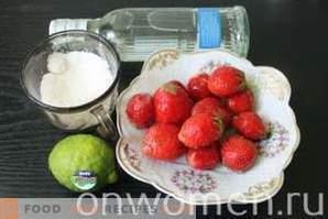 Likier truskawkowy bez ekspozycji
