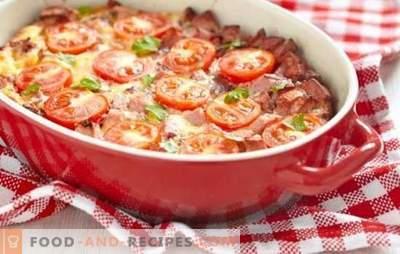 Zapiekanka z pomidorami - jasne lato na stole. Jakie warzywa i sosy są używane do zapiekanek z pomidorami
