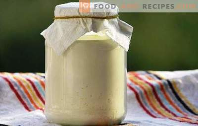 Sos słowiański: śmietana z mleka - przepisy w domu. Przydatne informacje o śmietanie z mleka, naturalnej recepturze