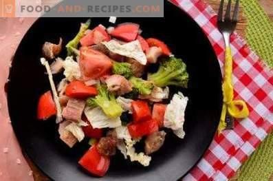 Салати за брокули