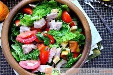 Färsk grönsakssallad dressing