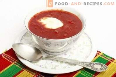 Children's borscht