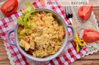 Risotto con pollo e verdure