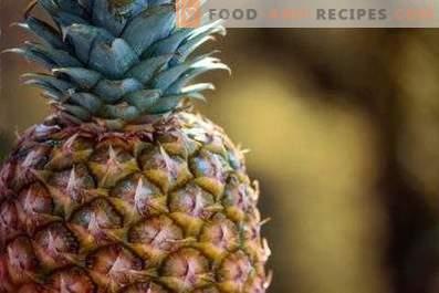 Wie man Ananas aufbewahrt