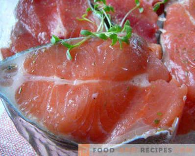 Jak marynować różowego łososia w domu smacznie i szybko, na różne sposoby