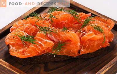 Solenie ryb w domu w marynacie i solenie na sucho. Specjalne i przyspieszone metody solenia czerwonych ryb w domu